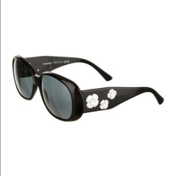 ee60e732dd86a CHANEL Accessories - Chanel 5113 Camellia Sunglasses